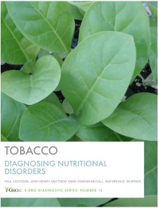 Cover photo for New Tobacco Nutrient Disorder iBook Available