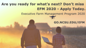 Cover photo for Registration Open for the 2020 Executive Farm Management Program